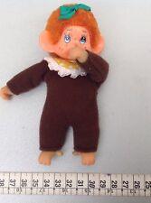 Vintage 70's moncicci'Monchichi Mini Baby Monkey Japan rare