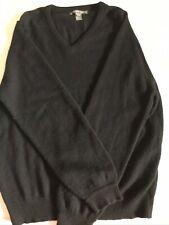 Men's Saks Fifth Avenue Cashmere V Neck Sweater Medium