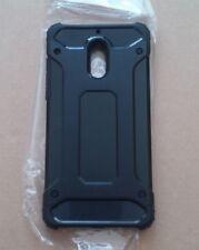 Nokia 6 Case Shockproof Rugged Bumper Tough Hybrid Armor Case Cover Black