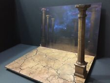 FIG-GT-1/12: Paper-craft Diorama - Greek Temple Saint Seiya Myth Cloth Diorama