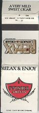 Matchbook Cover - Swisher Sweets Relax & Enjoy