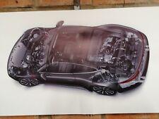 Porsche 911 Carrera  s4 pvc large WORK SHOP BANNER garage car show banner