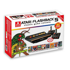 Atari Flashback 5 Classic Game Console Retro System 92 in1 Plug N' Play   NEW
