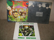 Jungle Brothers – Done By The Forces Of Nature LP + 2 MAXI SINGLE LP's