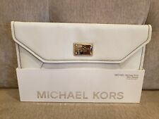 "New MICHAEL KORS Sleeve Macbook Air 11"" White Cover Case Carry Clutch"