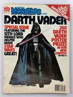 DARTH VADER: FAMOUS MONSTERS OF FILMLAND MAGAZINE #148 OCT 1978 STAR WARS VG-