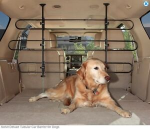 DELUXE CARGO BARRIER by Solvit + Dog Toy/Treats
