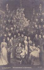 AK-Weihnachtsabend  im Kaiserhaus-1908