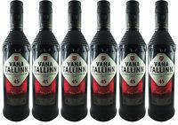 Vana Tallinn Rum Likör 6er Set (6 x 0,5L)  45% vol. Estland Spirituose SPARSET