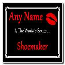Shoemaker Personalised World's Sexiest Coaster