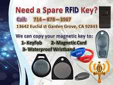 Need a spare RFID key? We clone RFID keys. HID & AWID