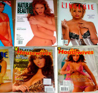 12 Playboy Special Magazine Lingerie Book Sexy PlayMates House Wives Naturals