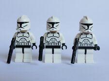 LEGO® Star Wars™ Figuren 3x Clone Trooper Klonkrieger sw201 aus 8014, 10195