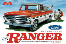 Moebius 1208 1971 Ford F100 Ranger XLT Pickup Truck model kit 1/25