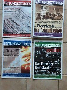 Zeitungszeugen Historische Zeitungen 1933-1945 vollständig nachgedruckt