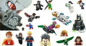 New LEGO MINIFIGURE MARVEL & DC Super Heroes Genuine CIVIL INFINITY WAR AVENGERS
