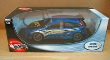 Hot Wheels Ford Focus Wings West Modern Image Blue Car Die Cast 1:18 Scale NEW