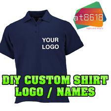 DIY Custom Shirt Logo Personalised - Polo Logos T-Shirts - Printed Company Name