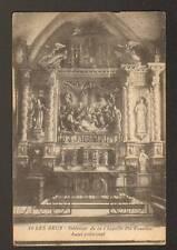 LES ARCS (83) CHAPELLE SAINTE-ROSELINE ,AUTEL PRINCIPAL