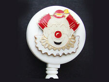CLOWN Retractable ID Badge Reel Card Holder/ Key Chain Ring/Security