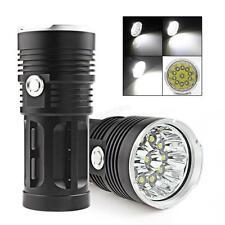 Mini SKYRAY 28000LM 11 x CREE XM-L T6 LEDs Flashlight 18650 Lamp Hunting Torch