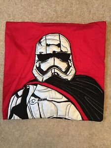 Pottery Barn Kids Star Wars Stormtrooper decorative Pillow Sham 20x20