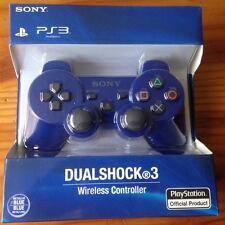 Mando PS3-DualShock 3 Sixaxis Bluetooth NUEVO ✸Color Azul✸ NO BOX   Sin Caja