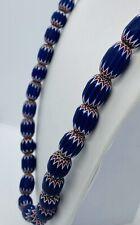 Antique Rare 19th Century Venetian 6-Layer Chevron African Trade Beads
