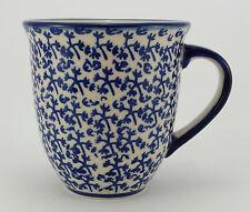 Bunzlauer Keramik Tasse MARS Maxi - Becher - blau/weiß - 0,43 Liter, (K106-P364)