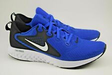 Nike Legend React Running Shoe Mens 10.5 AA1625-404 Blue/White/Black New w/o Box