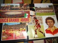 stock A.S. Roma Calcio riviste poster Giallo Rossi