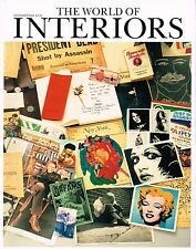 THE WORLD OF INTERIORS 12/2008 ANDY WARHOL Steven Gambrel MARCEL BREUER @Exclt@