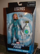 """MARVEL LEGENDS """"CLASSIC"""" Invisible Woman figure w/ Herbie robot"""