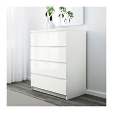 Chest of 4 drawers MALM,80x100 cm available in 6 colours