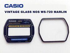 VINTAGE GLASS CASIO WS-720 MARLIN NOS