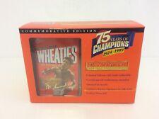 Wheaties Muhammad Ali 75th Collectibles 24K Gold Signature Mini Box 1999