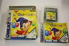 jeu Nintendo Game Boy  color oui oui  en boite