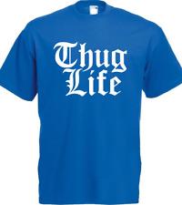 THUG LIFE T SHIRT GTA 5 Street 2 Pac Tupac Shakur Urban Swag Dope Trill Retro