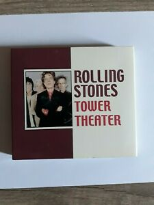 THE ROLLING STONES - Tower Theatre - Live 2002 - Double CD - Digipack