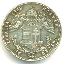 Österreich-Ungarn, Franz Joseph I., 1 Florin 1869 K.B Kremnitz