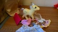 My Little Pony G1 Posey Tulips Vintage Toy Hasbro 1984 With a few accessories
