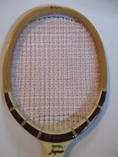 VINTAGE regent jaguar DON BUDGE WOOD TENNIS RACQUET