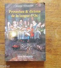 Occitan PROVERBES ET DICTONS DE LA LANGUE D'OC