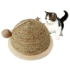 Cat Scratching Solid Ball Scratch Cardboard Scratcher Post Kitten Funny Toy