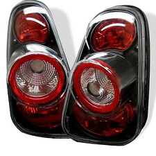 Spyder Auto ALT-YD-MC02-BK Euro Style Tail Lights-Black fit Mini Cooper