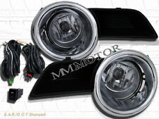 2008-2010 TOYOTA HIGHLANDER CLEAR OE STYLE FOG LIGHTS+SWITCH+ WIRE NEW