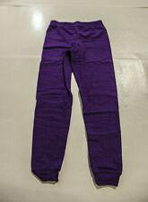 Hanes Girl's ComfortSoft EcoSmart Jogger Sweatpants AL8 Purple Large (10-12)