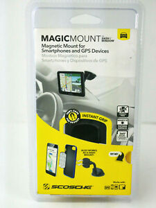 Scosche MAGIC MOUNT Magnetic Mounting System For Smartphones & GPS Devices