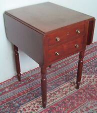 Antiques Furniture Provided Antique Cherry Game Table-1860-1870-turn Top Table Latest Technology