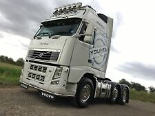 To Fit Volvo FH Series 2 & 3 Low Light Bar Spoiler Under Bumper Lobar + LEDs x11